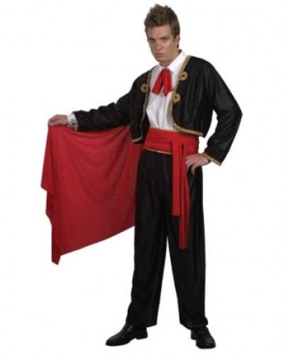 Adult Mens Matador Costume for Spanish Bull Fighter Fancy Dress