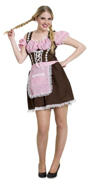 Adult Oktoberfest Brown Dress German Bavarian Octoberfest Beer Festival