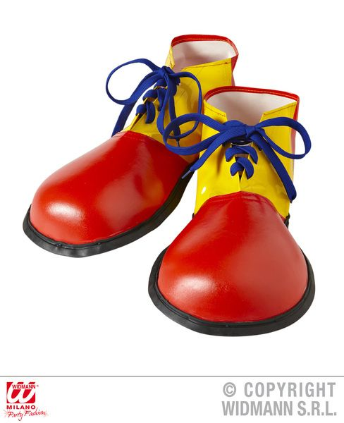 Adult Unisex Clown Shoes Size Carnival Pageant Amusement Park Fancy Dress