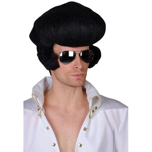 Adult Unisex Deluxe Rocker Wig Outfit Accessory for Fancy Dress Mens Ladies