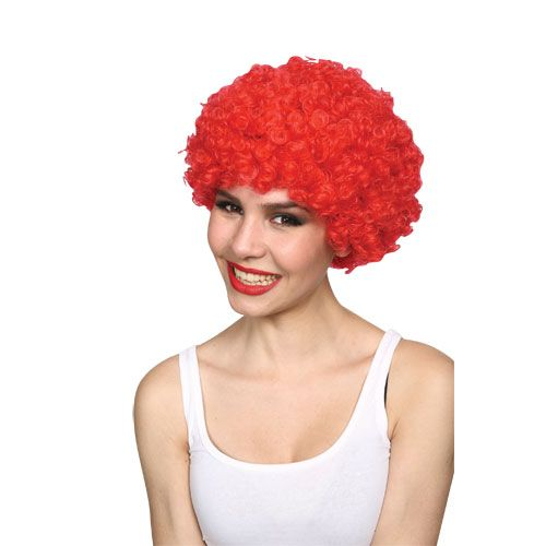 Adult Unisex Funky Afro Wig for 70s Disco Fancy Dress Mens or Ladies