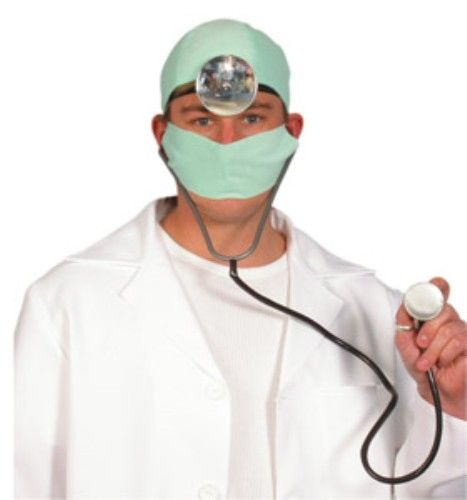 Adult Unisex Mens Ladies Doctors Dress Up Kit for Hospital Carry On Fancy Dress