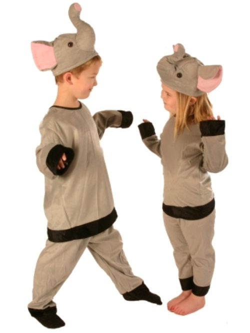 Animal Elephant Child Costume Nature Zoo Wildlife Book Week