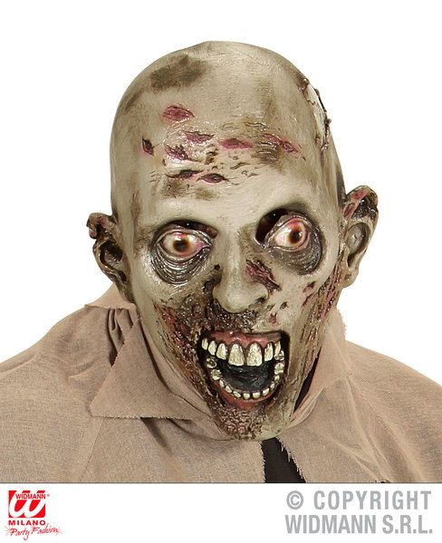 Appestato Zombie Full Head Mask Halloween Walking Dead Trick Treat Fancy Dress