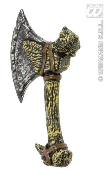 Axe 33cm Gaul Viking Torture Toy Weapon Plastic Novelty Toy