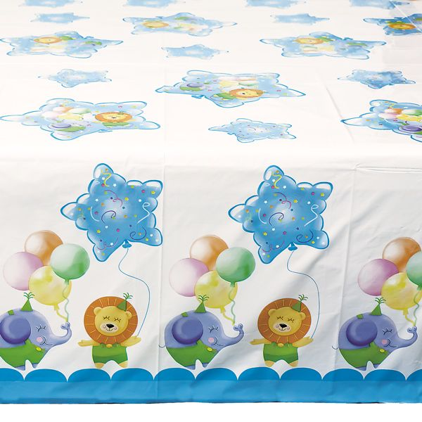 Baby Boy Party Table Cover 140 x 240cm