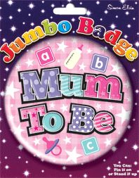 Badge 15cm Mum to Be