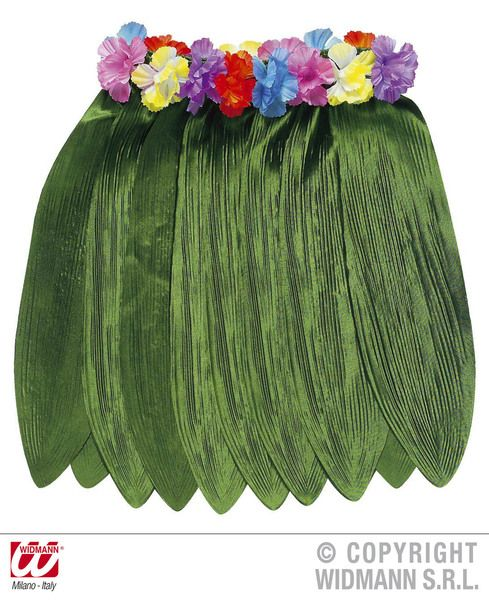 Banana Leaf Hawaiian Skirt 40cm Food Fruit Cosplay Fancy Dress