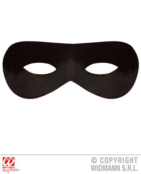 Bandit Eyemask Robber Theif Cowboy Zorro Fancy Dress