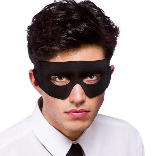 Bandit/Superhero Eyemask for Masquerade Ball Eye-Mask Eye Mask Fancy Dress