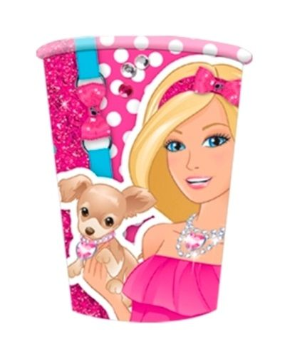 Barbie Design Party Cups - 8 Cindy Toy Model