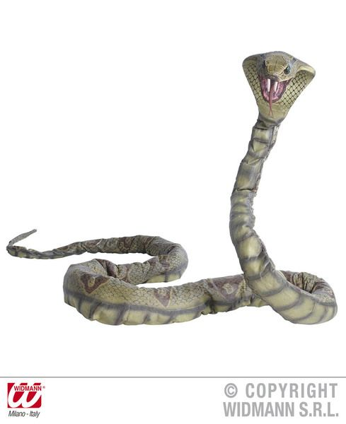 Bendable Cobra 3M Trick Snake Party Decoration Temple Of Doom Raiders Lost Ark