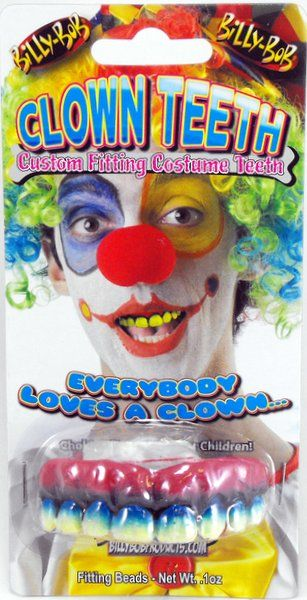 Billy Bob SFX Teeth Clown Carnival Pageant Amusement Park