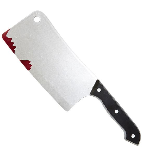 Bloody Cleaver 30cm Vampire Zombie Bleeding Fancy Dress Cosplay