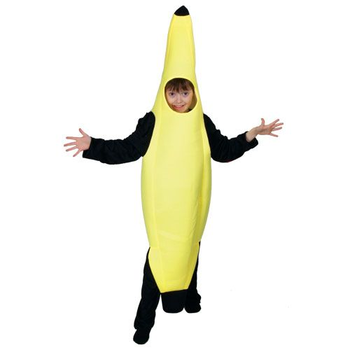 Boys Banana (Kids) Costume Outfit Food Themed Fancy Dress Childrens Kids Childs