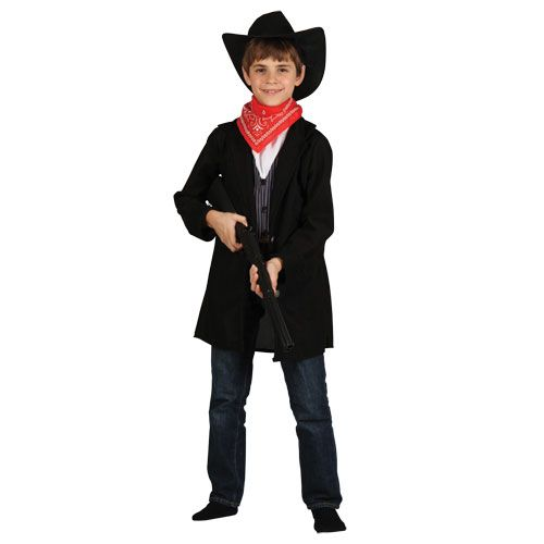 Boys Western Cowboy Costume for Wild West Fancy Dress Childrens Kids Childs
