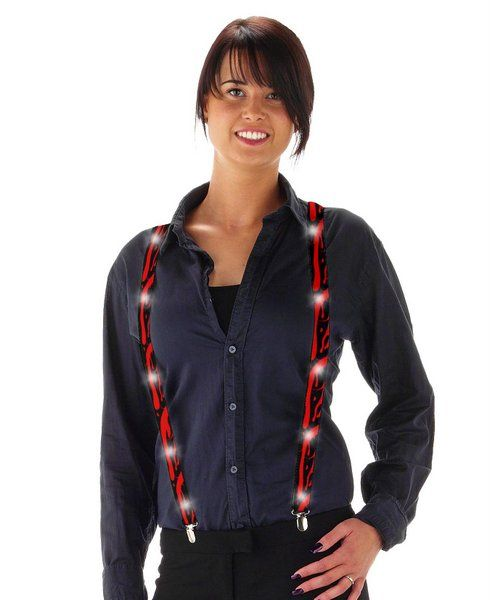 Braces with Blood spilt Suspenders Rockabilly 50s