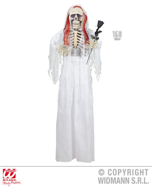 Bride Skeleton 153cm Decoration Halloween Walking Dead Trick Or Treat Party