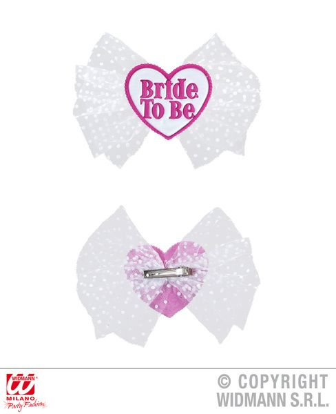 Bride To Be Hair Clip Hen Wedding Shower Handout Favor Gift Accessory