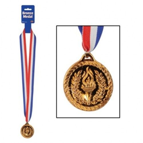Bronze Award Medal with Ribbon for Winners Party Favour Favor