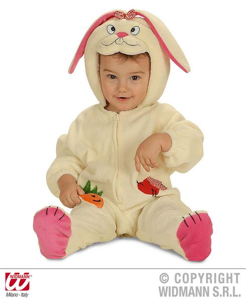 Child Baby Bunny Costume Easter Rabbit Magician Fancy Dress Outfit
