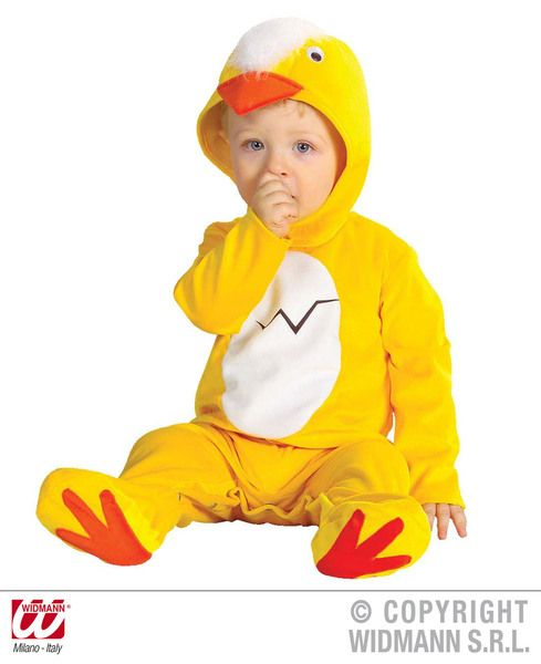 Child Baby Chick Costume Baby Chicken Animal Easter Fancy Dress Outfit