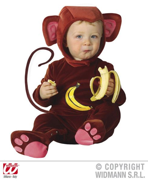 Child Baby Monkey Costume Cheetah Chimp Typhoo Pg Tips Animal Fancy Dress Outfit