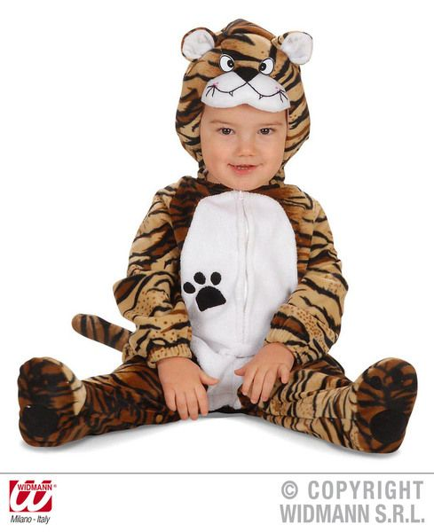 Child Baby Tiger Costume Twd Animal Ezekiel Jungle Animal Cat Fancy Dress Outfit