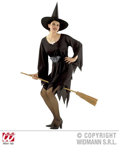 Child Crudelia Witch Teen Costume Halloween Wicked Villian Fancy Dress Outfit