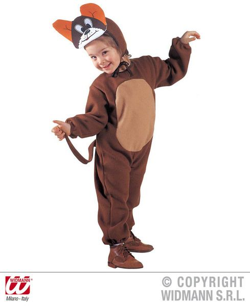 Child Little Mouse Costume Rodent Animal Creature Mammal Fancy Dress Outfit