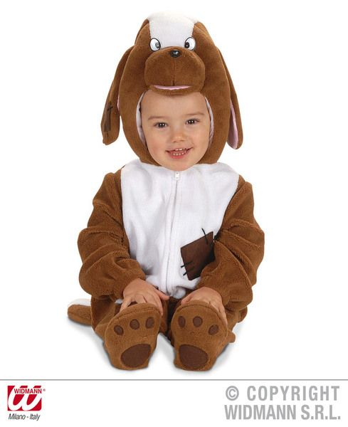 Child Unisex Baby Dog Costume Animal K9 Wolf Pet Fancy Dress Cosplay Outfit