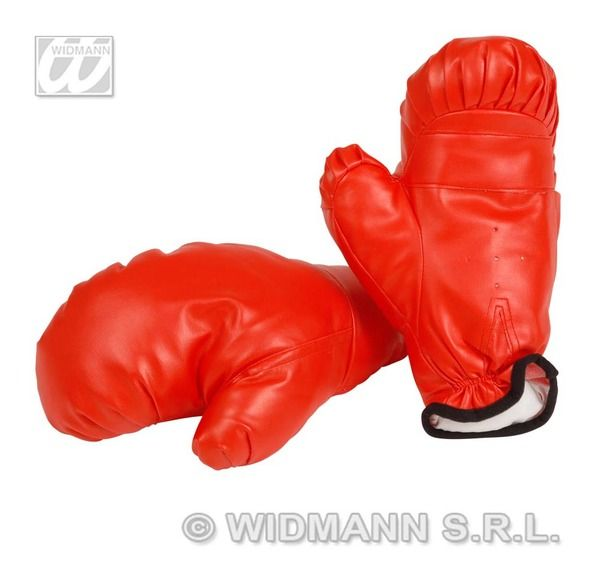 Child Unisex Boxing Gloves Prof Sport Wwf Mexican Fighting Fancy Dress