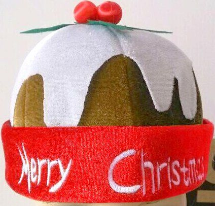 Christmas Pudding Hat Adult Xmas Festive Seasonal Nativity
