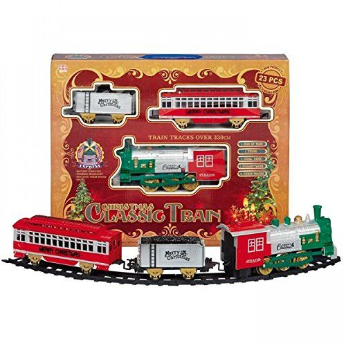 Christmas Train Set.Christmas Train Set