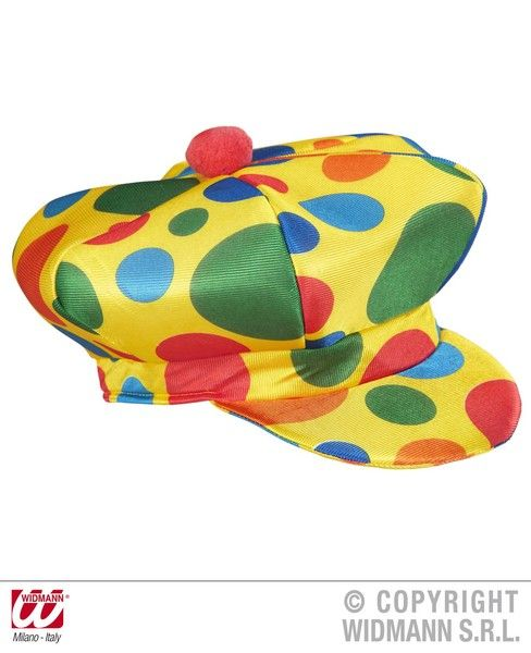 Clown Cap Hat Carnival Pageant Amusement Park Fancy Dress