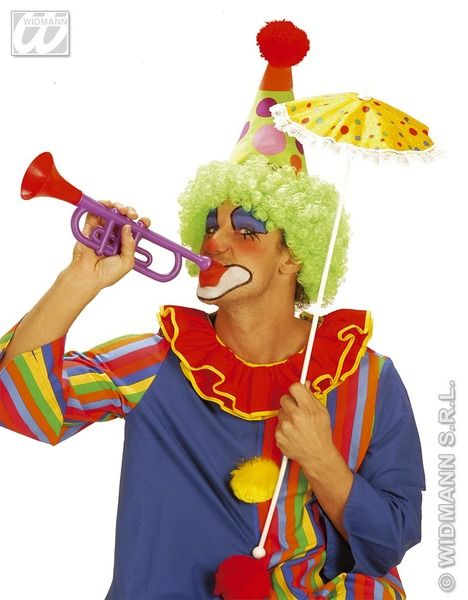 Clown Trumpet Noisy Favour Carnival Pageant Amusement Park Party Favor