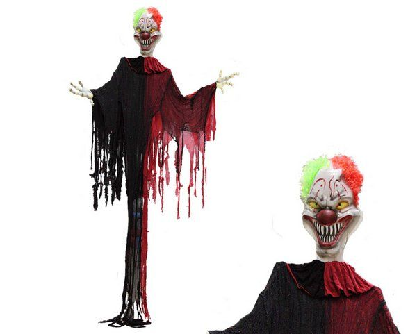 Decorative Evil Clown Hanging Decoration Bad Villian Rotten Wicked