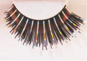 Eyelash Eye Lash set Holographic Black