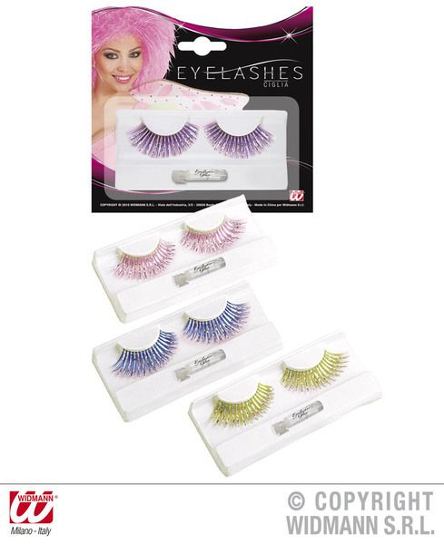 Eyelashes Laser Fashion 4 Colours Cosmetics