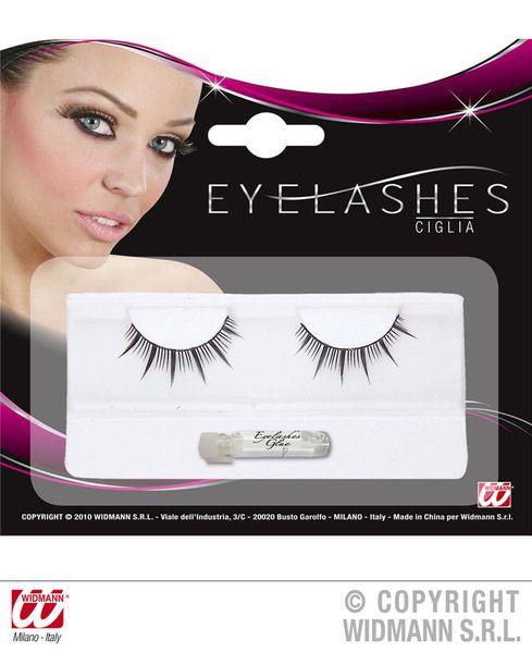 Eyelashes Long Spikes Black Makeup Beauty Cosmetics