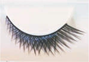 Eyelashes set Crossed Short/Long Black Cosmetic Makeup Accessory