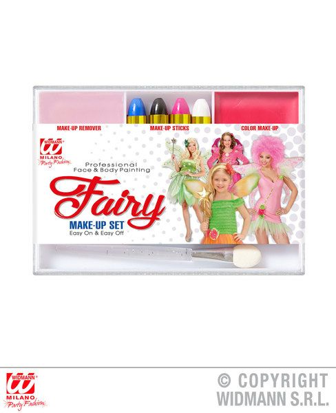 Fairy Makeup Set Tink Pan Fairytale Whisp Cosmetics