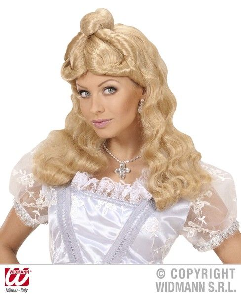 Fairyland Princess Wig Blonde Beautiful Story Book Royal Regal Hero Fancy Dress