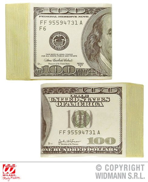 Fake Dollars Money Novelty Gag Trick Novelty Toy
