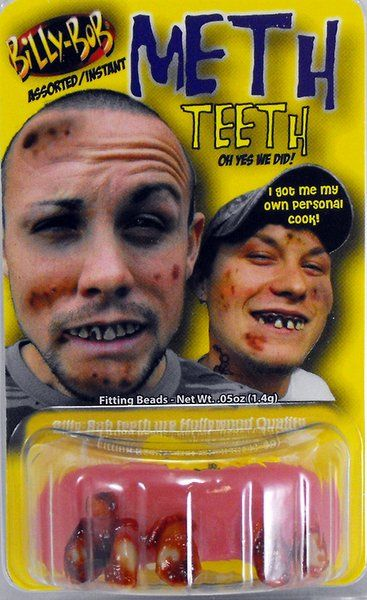 Fake False Teeth Joke Novelty Billy Bob Meth Assted Designs Gag Trick Novelty