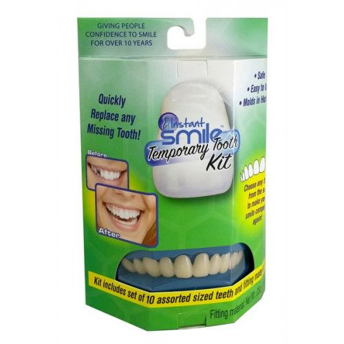 Fake False Teeth Joke Novelty Instant Replacement Tooth Gag Trick Novelty
