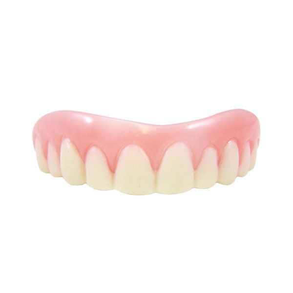 Fake False Teeth Joke Novelty Instant Smile Medium Gag Trick Novelty
