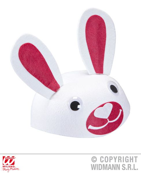 Felt Bunny Cap Hat Easter Rabbit Magician Fancy Dress