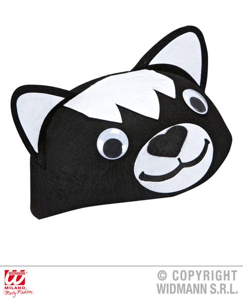 Felt Cat Cap Hat Pussy Pet Animal Feline Witch Fancy Dress