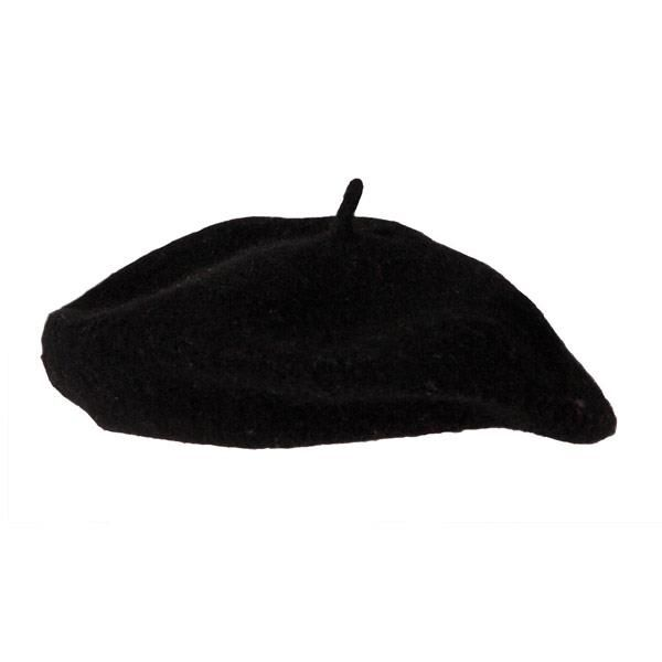 French Beret Hat (High Quality) for France National Dress Fancy Dress